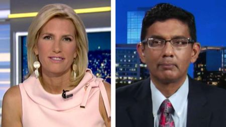 Laura Ingraham used to be in a relationship with Dinesh D'Souza.