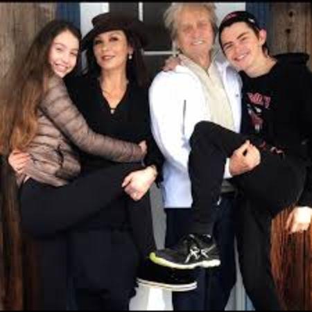 Catherine Zeta Jones is mother to two children.