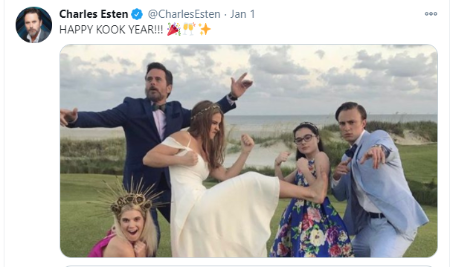 Charles Esten and wife Patty know each other since high school.