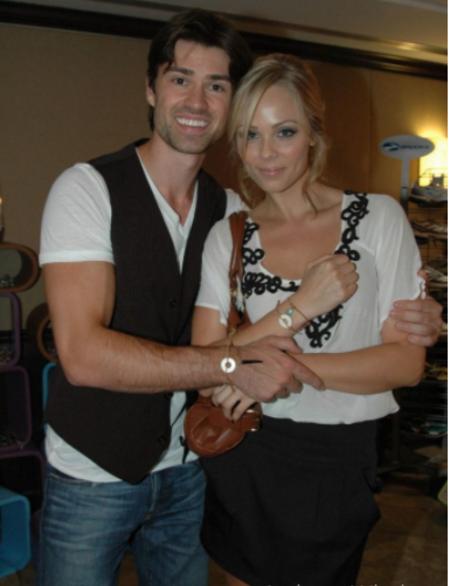 Corey  Sevier dated Laura vandervaart from 2005 to 2011.