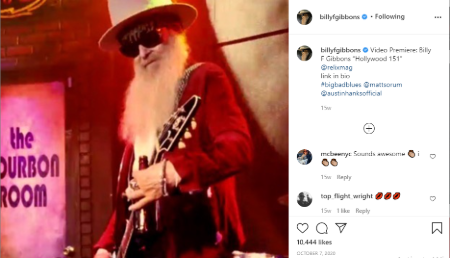 Gilligan Stillwater's husband is a guitarist and singer.