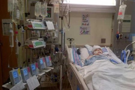 Grayson Smiley is battling brain cancer since 2009.
