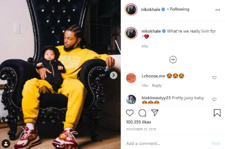 Keshia Cole welcomed son Tobias KHale.