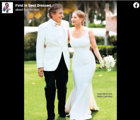 Lisa Niemi started dating Albert DePrisco in 2011.
