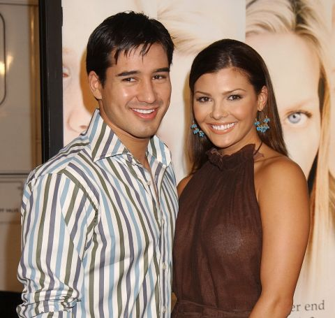 Ali Landry with her ex-spouse, Mario Lopez.