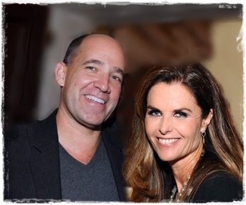 Matthew Dowd and ex-girlfriend Maria Shriver
