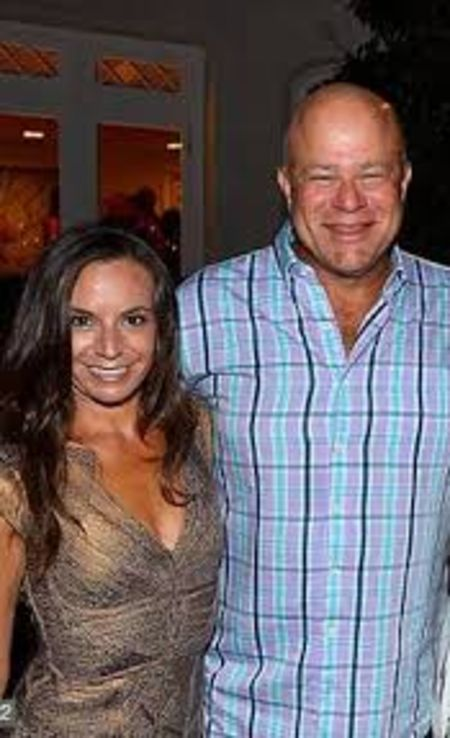 Nicole Bronish helps her husband David Tepper in his business.