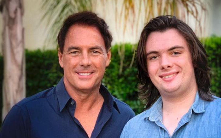 Avery James Steines with his father Mark Steines