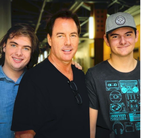 Avery James Steines with his brother Kai Steines and father Mark Steines