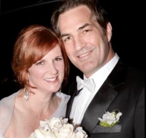 Lynn Colliar shared her vows with her husband, Glenn Ennis.
