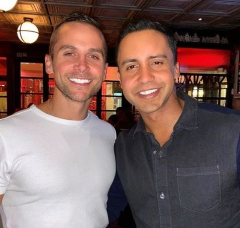 Kyle Reinneck and his beau Bryan Llenas first met on October 24, 2017, in the Dallas Love Field Airport.