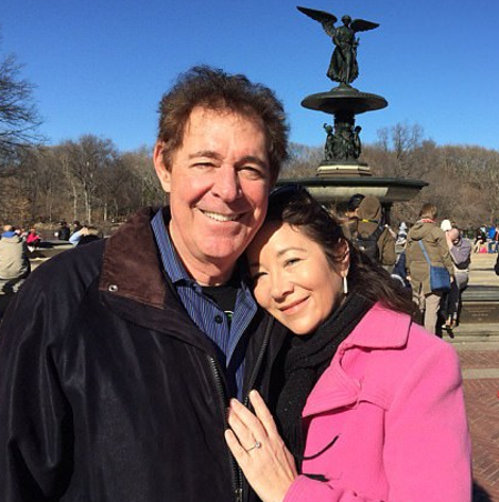 Tina Mahina walked down the aisle with Barry Williams in 2017.