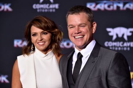 Matt Damon and his wife Luciana Barroso have been married for over 14 years.