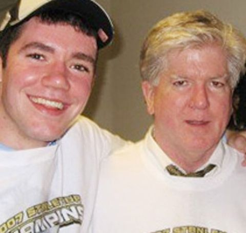 Brian Burke, 65, faced a painful tragedy back in 2010; he lost his son, Brendan, in a car accident.
