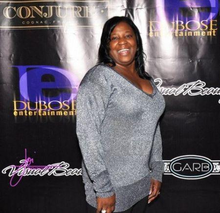 Lil Wayne's mother Jacida Carter at an event.