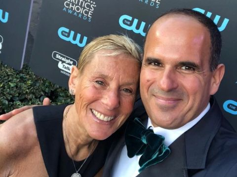 Ila Lemonis's ex-husband Marcus Lemonis and his current wife.