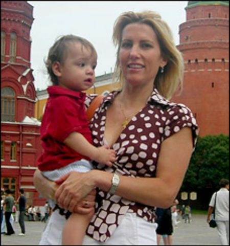 Laura Ingraham adopted her son Michael Dmitri Ingraham from Moscow, Russia.