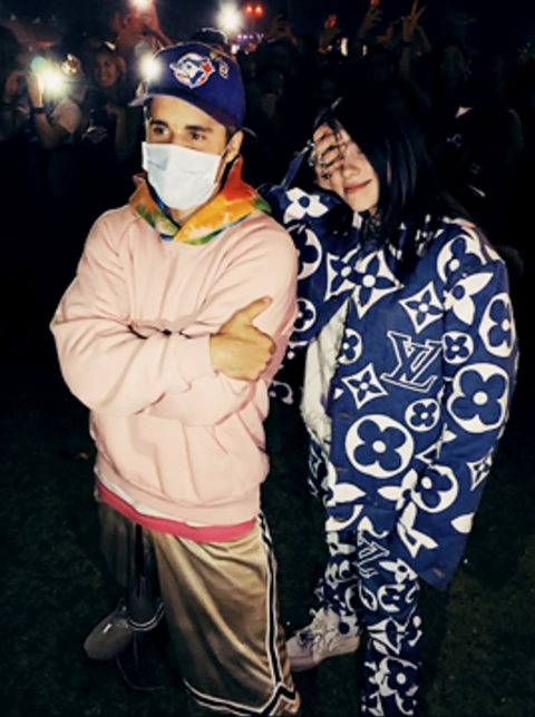 Billie Eilish documentary features singers like Justin Bieber and Katy Perry.