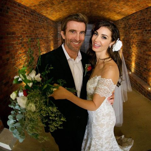 Sharlto Copley and Is presently married to Tanit Phoenix.