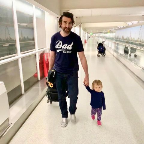 Sharlto Copley is a blessed father of his daughter, Sielle Phoneix Copley.