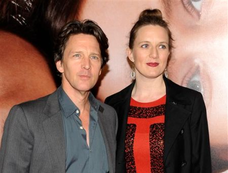 Andrew McCarthy and his wife Carol McCathy