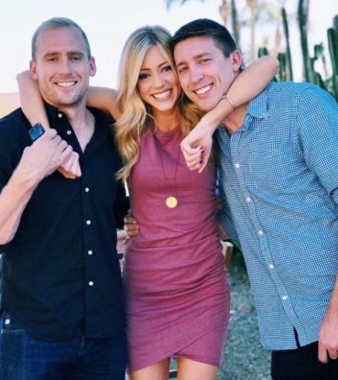 Abby Hornacek brothers Tyler and Ryan Hornacek