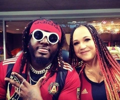 Amber Najm met her prince charming T-Pain when she was a teenager.