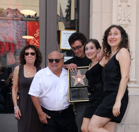Grace Fan DeVito with her father, mother, brother and sister.