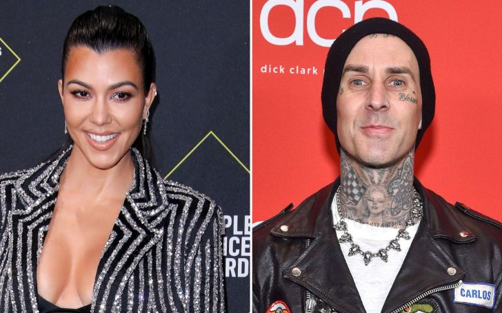 Kourtney Kardashian is dating Travis Barker