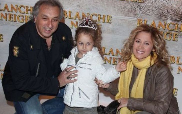 Lou Pullicino, 13, is the only kid of her mother Lara Fabian.