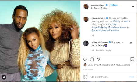 Leon Robinson  shares a daughter with ex-fiance Cynthia.
