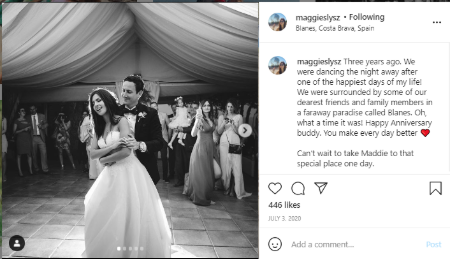 Maggie Slysz  announced her engagement in 2017.