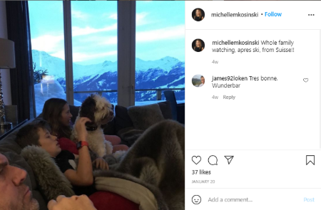 Michelle Kosinski shares twins with husband Kimbell Duncan.