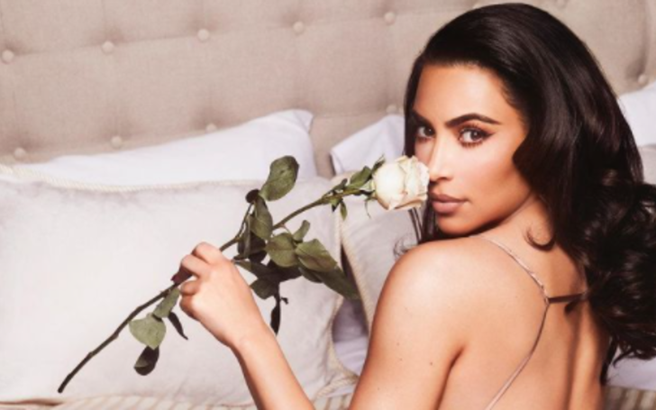 Kim Kardashian is spending Valentines Day alone this year