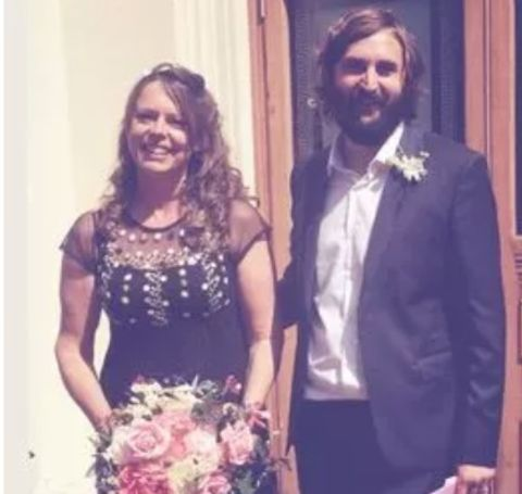 Petra Exton tied the knot with Joe Wilkinson in July 2015.
