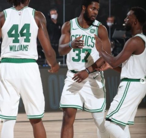 After ending his college career, Semi Ojeleye began his professional journey at Boston Celtics.