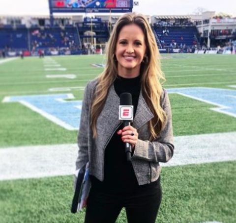 Kelsey Riggs rose to prominence in the broadcasting biz and now holds a net worth of $400 thousand.
