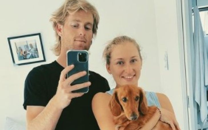 Daria Gavrilova is engaged to Australian pro tennis player, Luke Saville, 27, who was born on February 1, 1994, in Berri, South Australia.