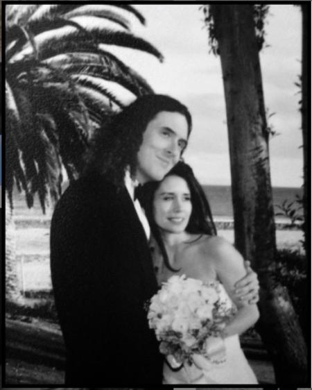 Suzanne Yankovic met Weird Al Yankovic in 2003.