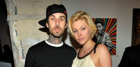 Travis Barker and his wife Shanna Moakler