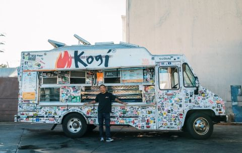 Roy Choi and his food truck Kogi