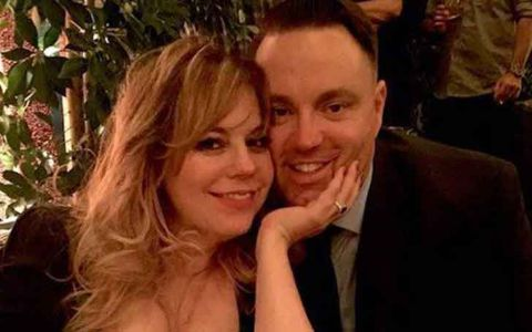 Kirsten Vangsness and her fiancé Keith Hanson