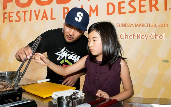 Kaelyn Choi is the daughter of Roy Choi