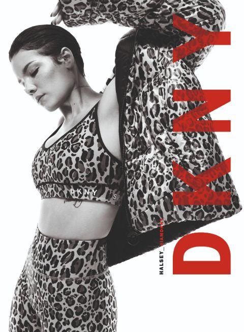 Halsey's bold look for DKNY Photo Shoot. Halsey DKNY