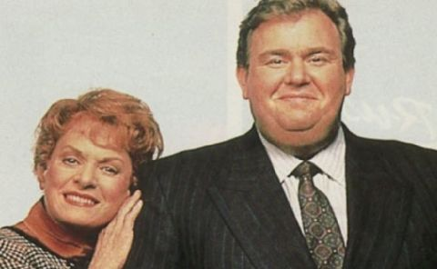 Rosemary Margaret Hobor and her husband John Candy