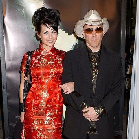 Maynard Keenan and his wife Lei Li.