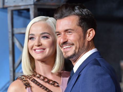 Katy Perry and her fiance Orlando Bloom