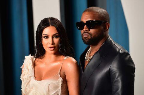 Kim Kardashian and Kanye West spending Valentines Day alone