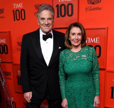 Jacqueline Pelosi's parents are millionaire.