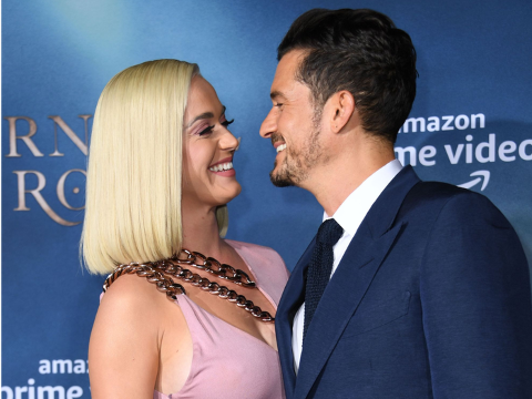 Katy Perry Sparks Rumors of Being Secretly Married To Fiance Orlando Bloom
